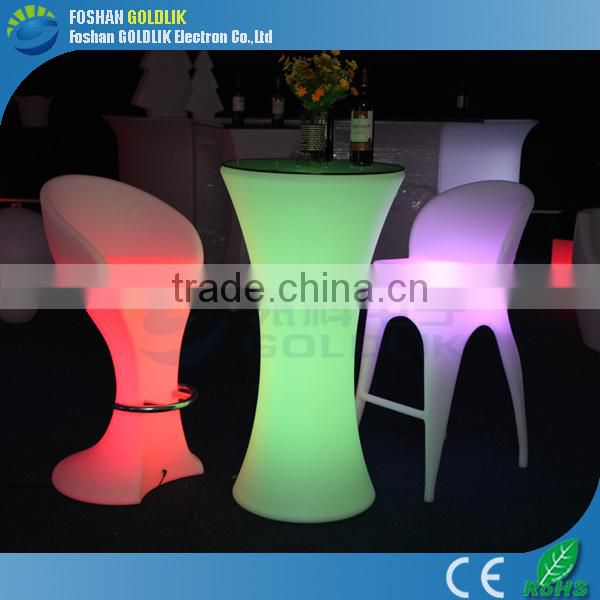 Illuminated LED Light Furniture, LED Chair/LED Sofa GKL-104LL