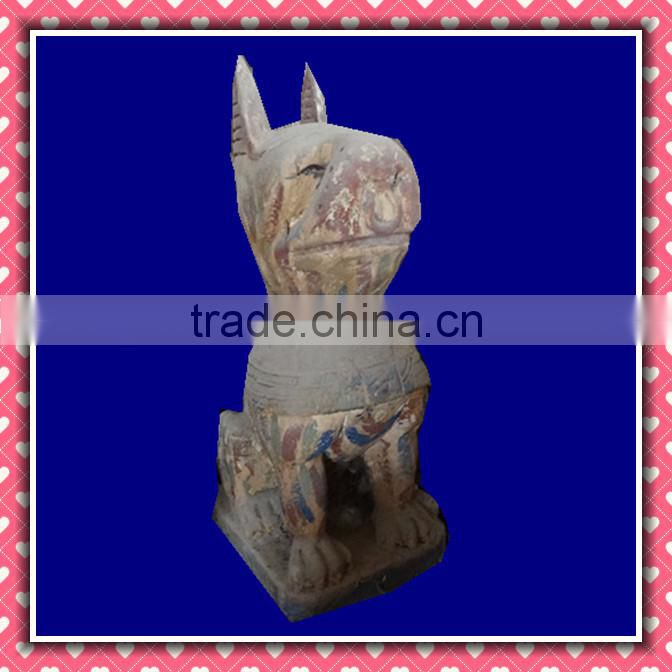 Wood Carving Sitting Buddha Wooden Sculpture