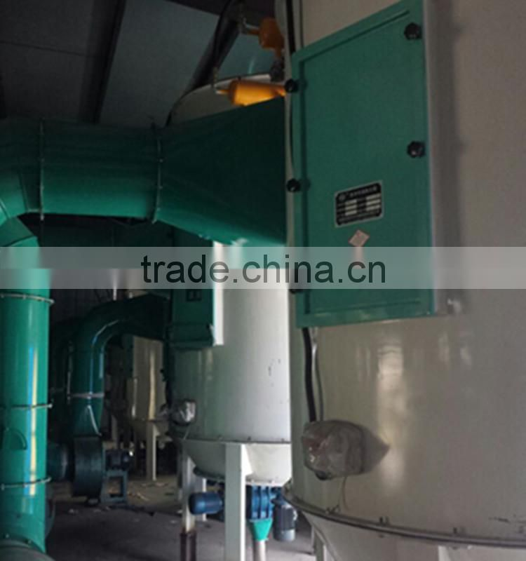 High efficiency complete set grain rice cleaning machine