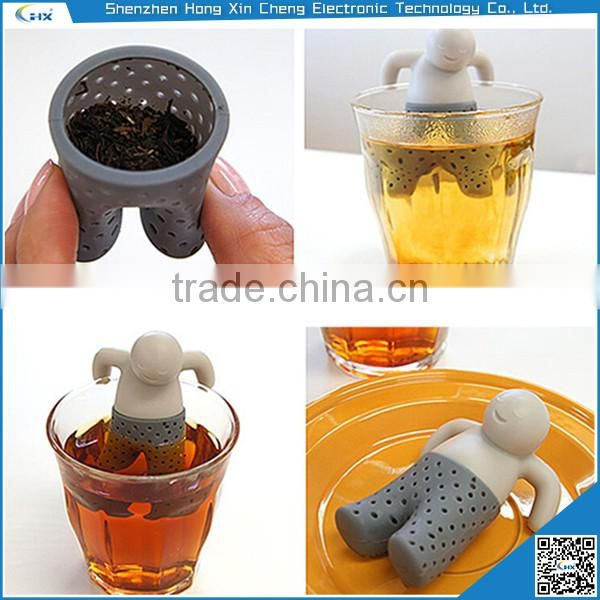 New style fashion silicone Mr tea infuser
