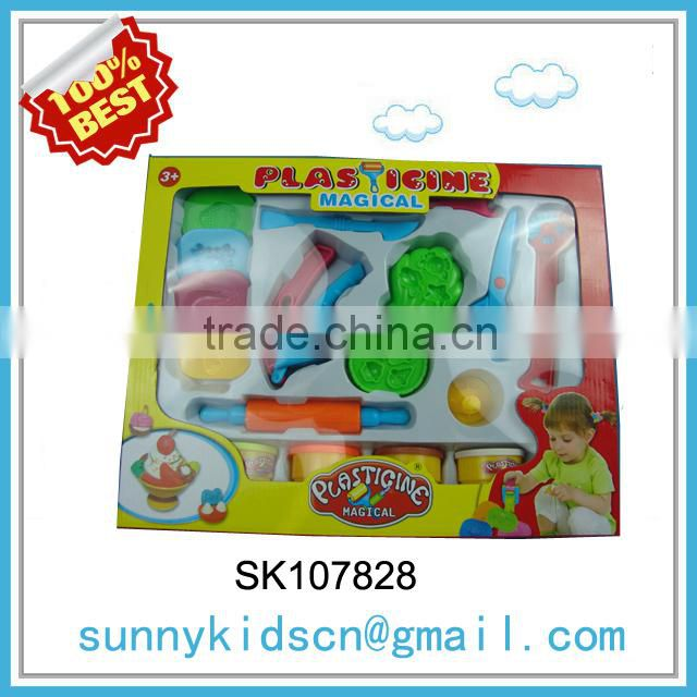 Sale price handmade clay toys play dough tools