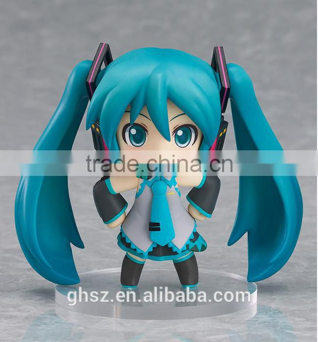 Guohao custom resin Hatsune Miku action figures, Hatsune Miku toys for colection