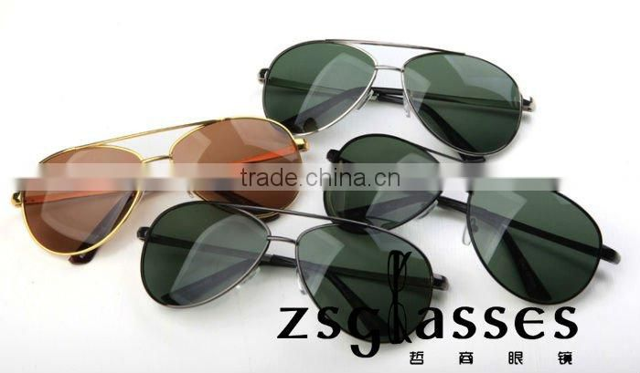 Promotion Aviator Sunglasses,assorted colors lens