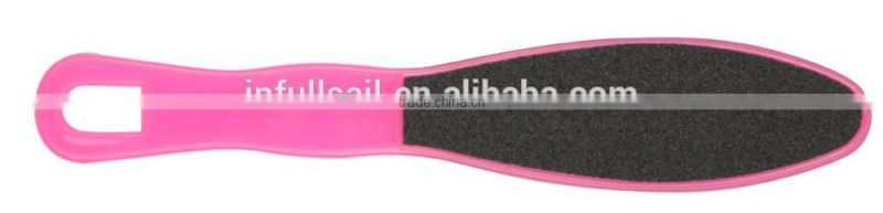 Sandpaper foot smoother with plastic handle