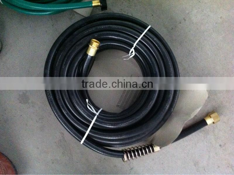 flexible and competive price black garden hose