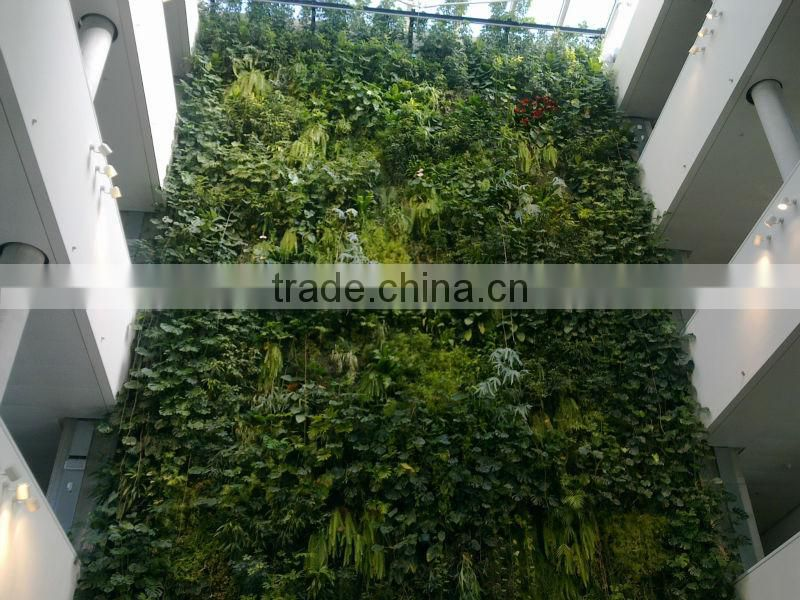 living artificial grass plant wall plastic green wall