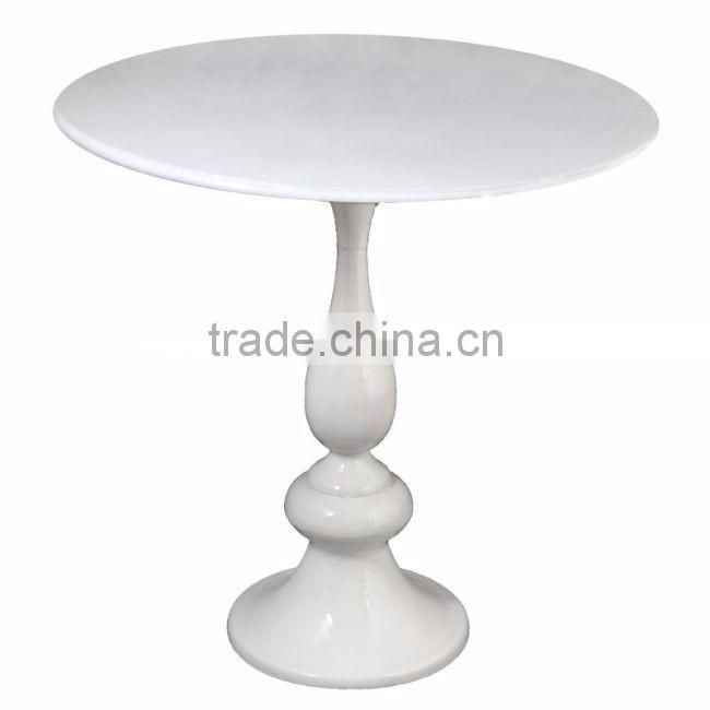 nickel plated tall decorative tables for sale