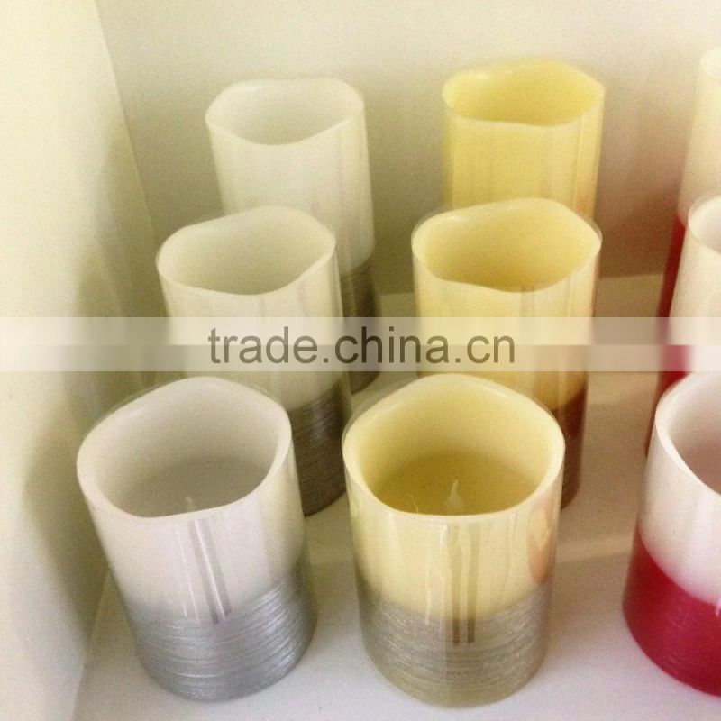 flameless led candles led yellow flickering real wax candles set of led candles with remote control home decorative candles