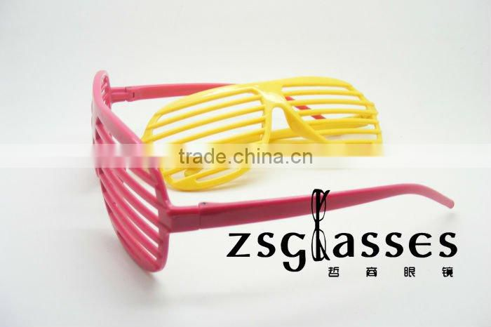 Hot sale cheap shutter shade sunglasses /promotional plastic glasses/promotion sunglasses