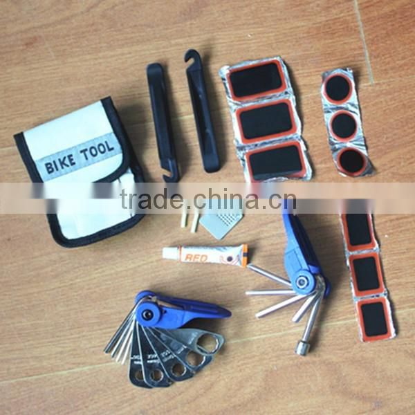 hot sale high quality 17pcs bicycle folding tool set