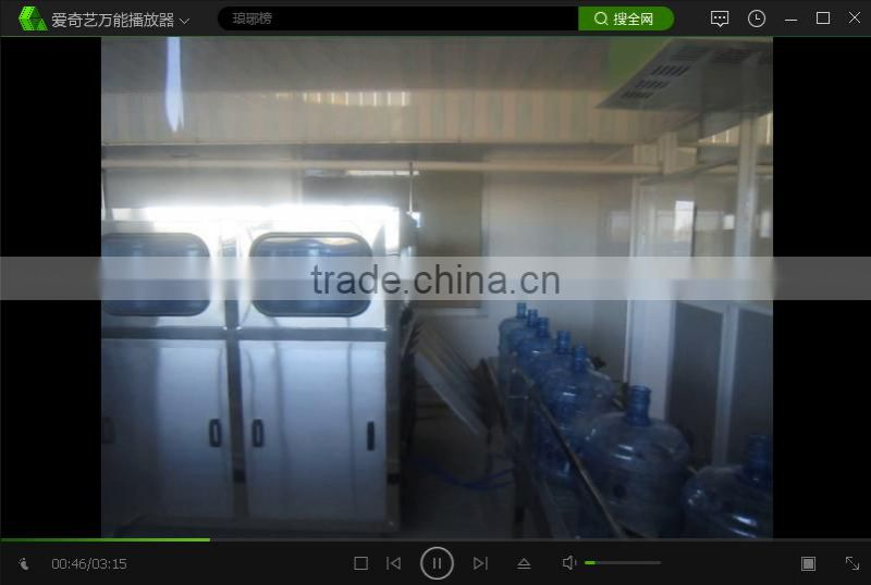 5 Gallon pure water / mineral water production line single row