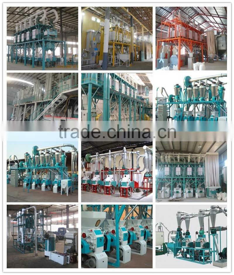 luohe hualiang millet flour milling machine with 25kg packing