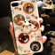cartoon cell phone case silicone mobile Phone Cases for iPhone7/7Plus/6/6s/6plus/6splus with finger ring Stand holder