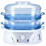 2 tier plastic food steamer
