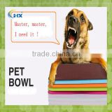 Dog Portable COLLAPSIBLE TRAVEL SILICONE PET BOWL /silicone pet dogs bowls