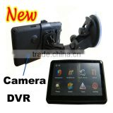 Russia Market Bluetooth Handsfree AV-in 5 inch Car DVR GPS