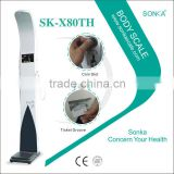SK-X80th Shenzhen Multi-functional Ultrasonic Coin Operated Scale (Outside Omron/Bill Input/LCD Touch Screen)