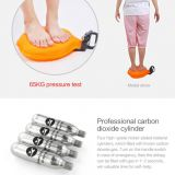 inflatable lifesaving wristband