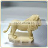 Smal resin animal crafts lion figurine