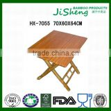 Wholesales of Natural Folding Bamboo Outdoor Beach Table