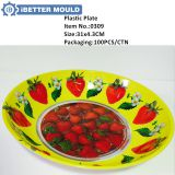 0309 Plastic Plate Cheap Plate Fruit Plate