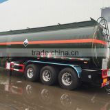 27m3 Chemical Road Tanker Trailer for Ammonium nitrate / German saltpetre transportation