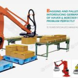 4 axis robot palletizer,stacking robot,automatic robot stacking machine,industrial robot arm