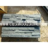 Common size black slate stone for outdoor decorative