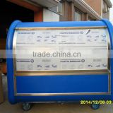 Fiber glass mold hot dog cart for sale