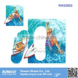 RW22653 Surfing printing EVA Board Slipper