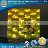 Trade Assurance Custom Pattern 3D film 3D cold laminating 3D thermal lamination film                                                                         Quality Choice