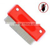 Schooltime Lice & Nit Comb-- Metal Comb with Ergonomic Handle