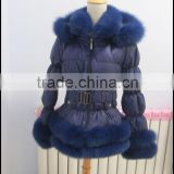 down puffer jacket with <b>fur</b> hood