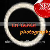 Bi color LED Ring Light Macro Photography with mirror Diva on Portrait Children photography