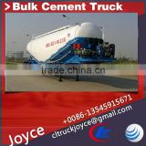 Bulk Cement Transport Semi Trailer,Bulk Cement Tanker Trailer
