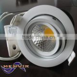 Triac dimmable 10w downlight led cocina, 240V led downlight