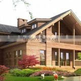 FBRWH005 outdoor modern prefabricated modular log Wood house