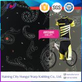 Quick Dry Anti UV Polyester Spandex Blend Fabric Stretch Waterproof Cycling Wear Fabric