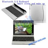 High Quality Smart Sleep and Wake Up Wireless Bluetooth 3.0 Keyboard for iPad 2/3/4/5