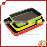 Color ovenware aluminum bakeware sets new hot sales silicon bakeware