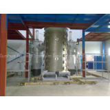 Large stainless steel vacuum coating machine