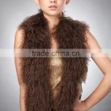SJ186-01 Winter Fur Scarf Sheep Wool Fashion Lady