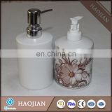 sublimation soap dispenser with white plastic water pump