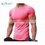 blank high quality athletic gym fitness mens design sports t-shirts