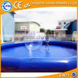 Inflatable PVC tarpaulin pool table used swimming pool inflatable for sale