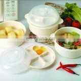 4 in 1 plastic microwave steamer cooker