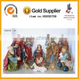 Catholic Religious 42'' outdoor nativity set resin statues