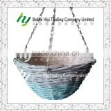 Hanging basket Wall basket Garden pot Flower basket Plant pot Baskets wholesale Wicker basket