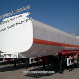 40, 50, 60 m3/ Cbm Petrol, Diesel, oil Tanker Trailers with 2/3/4 Compartments with Q235 material