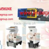 JD10800S plastic chair table car toy pallet servo save plastic injection molding machine from ningbo jinde